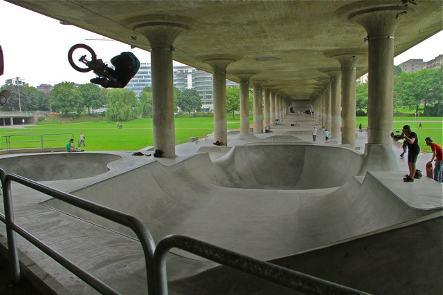 under bridge skatepark